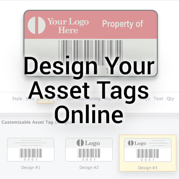 Design Your Asset Tags Online