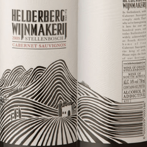 lines creating hills on the label flow into the barcode