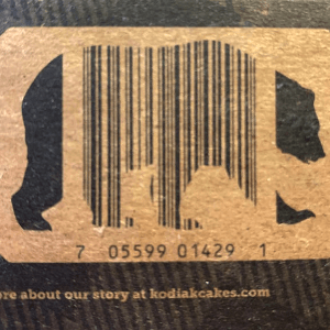 Kodiak barcode inside a bear