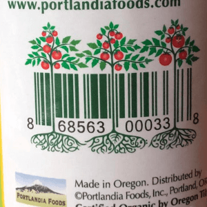 tomato plant barcode for ketchup