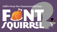 Font Squirrel (Thanksgiving) logo