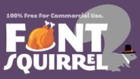 Font Squirrel (Thanksgiving) logo