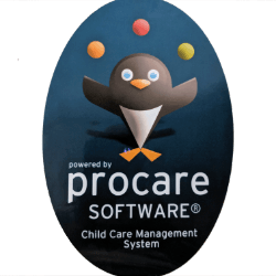 Procare Software label