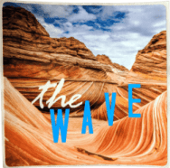 National Parks promotional sticker - The Wave