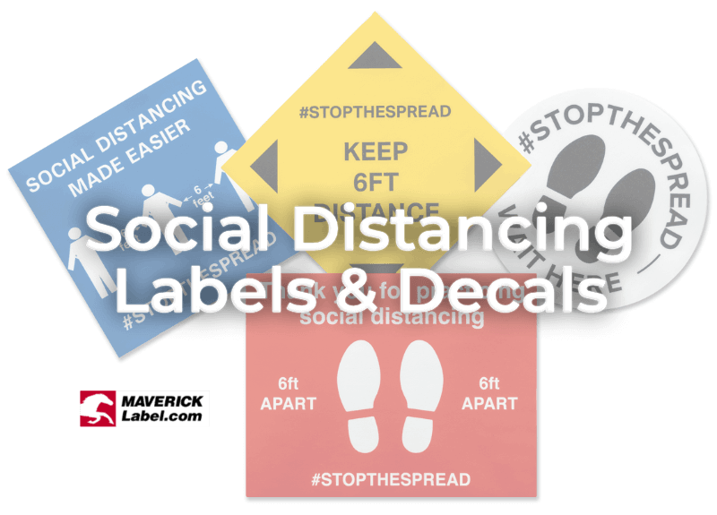 Social Distancing and Labels