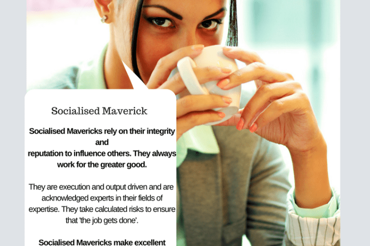 What is a Socialised Maverick?