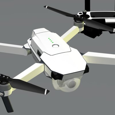 White skin for DJI Mavic Pro