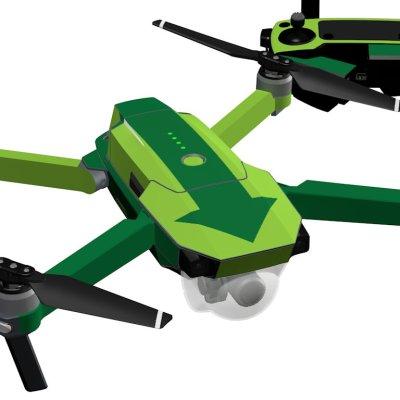 Green Arrow skin for DJI Mavic Pro