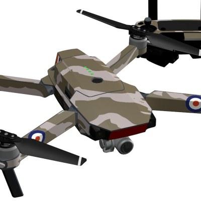 War plane for DJI Mavic Pro