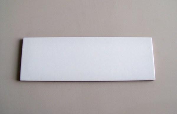 Decoratori Bassanesi ceramica 10x30 Smalto Bianco