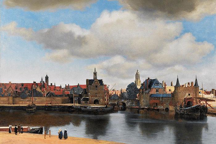 Pintura barroca del Norte de Europa, obra e Veermer de Delf