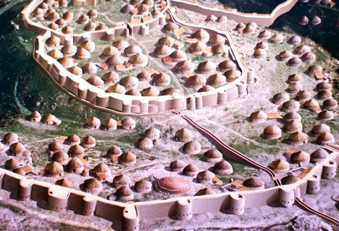 LAs fortificaciones en la Península Ibérica: Los Milllares