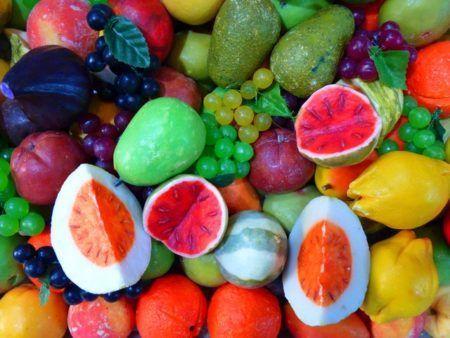 Frutas variadas para alimentación infantil