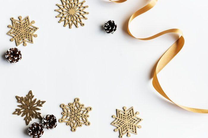 Decoraciónes de Navidad minimalista para disfrutar en familia.