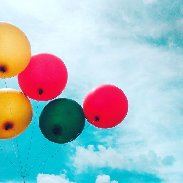 Globos para organizar un cumpleaños para niños