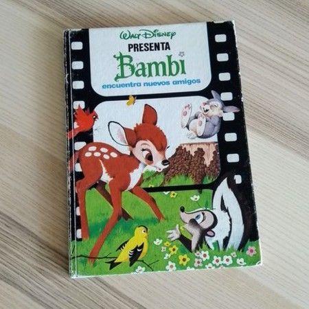Cuentos sobre la primavera tradicionales como Bambi