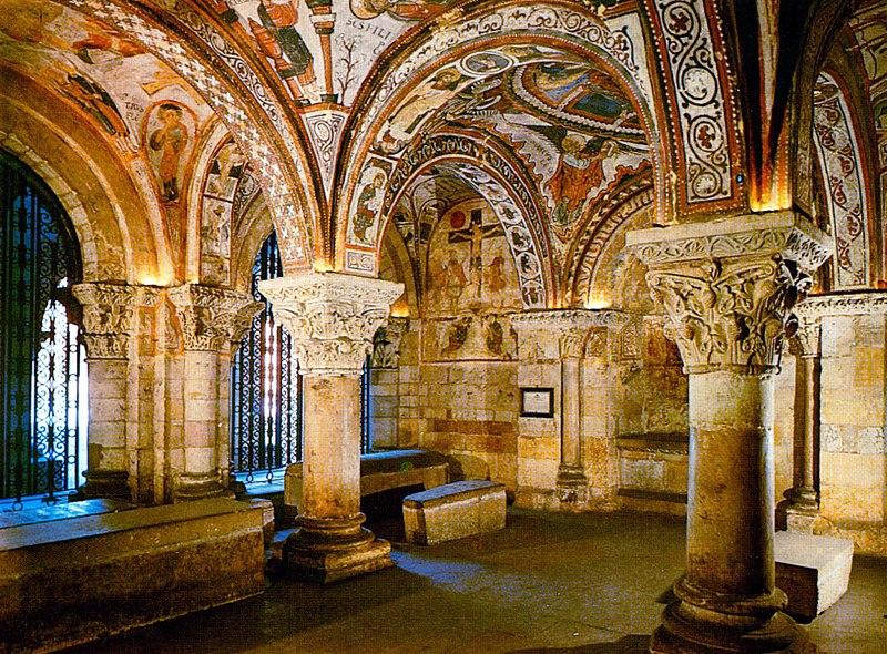 San Isidoro de León pintura románica