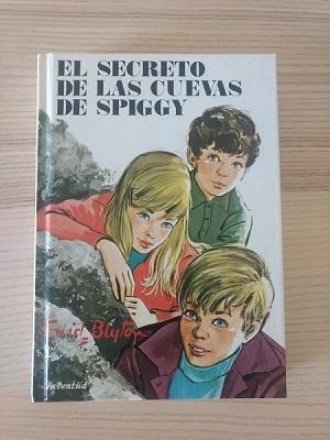 Enid Blyon libro El secreto de las cuevas de Spiggy