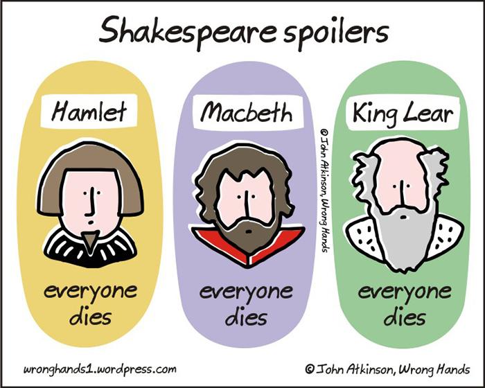 Las tragedias de Shakespeare spoiler de John Atkinson