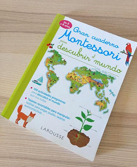Cuaderno de actividades montessori