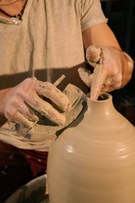 Proceso creativo de cerámica