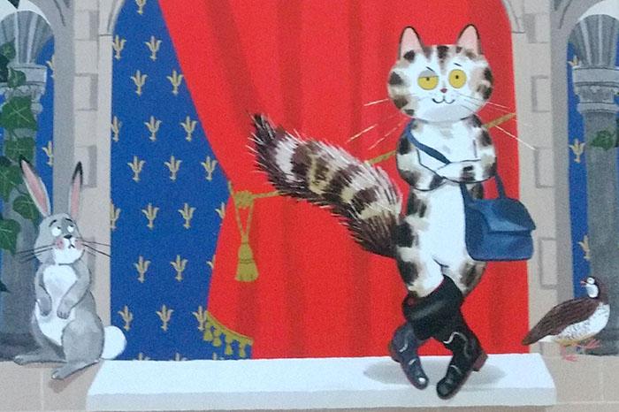 El gato con botas, cuento clásico de Jacques Perrault