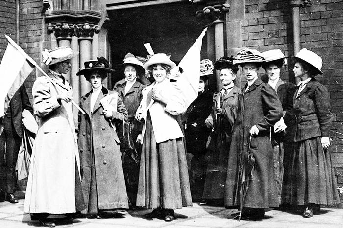 sufragistas: la segunda ola del feminismo