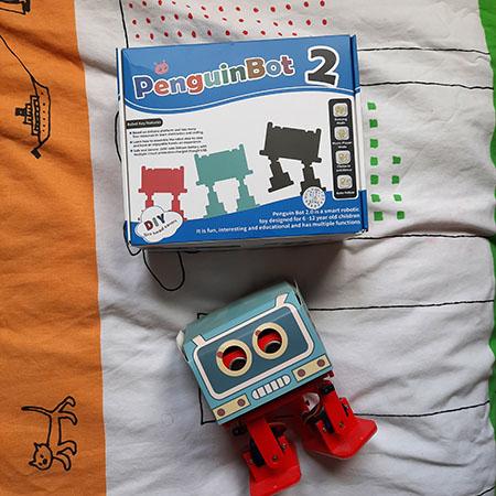 Robot para niños de juguete