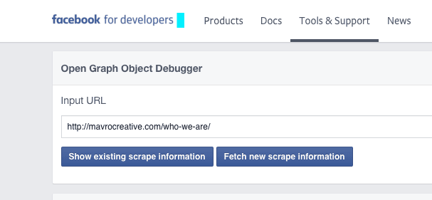 Not seeing an image with Facebook? Debug it! - MavroCreative