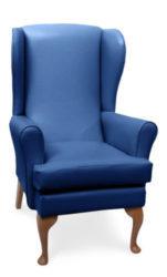 Mawcare - The Buckingham - high seat orthopedic Wingback fireside  Armchair in Manhattan Royal