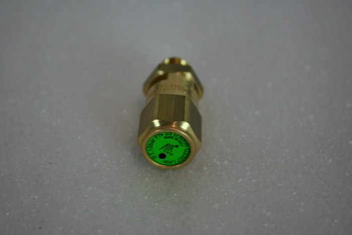 Max-Air 1st Stage Safety Valve