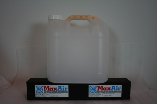 Max-Air Condensate Jug with Mufflers