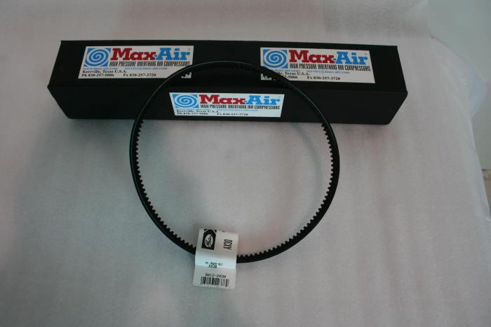 Drive Belt AX30 for Max-Air 35 E-1 or E-3 Max-Air