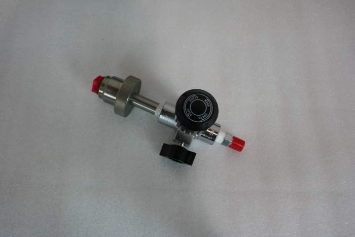 Max-Air SCBA Fill Valve With Bleed Valve No Hose CGA FV-1004
