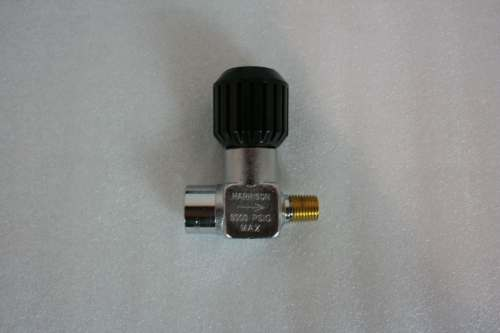 "Max-Air LV1 1/4"" F X 1/4"" M No Bleed Valve"