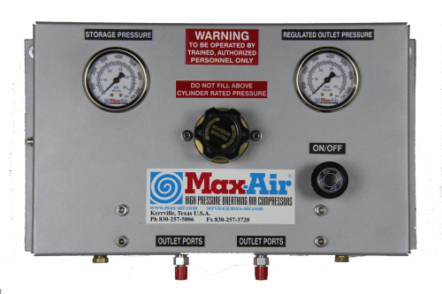 Max-Air Custom FP-4000-4 (4 Port Fill Panel) or FP-4000-2 (2 Port Fill Panel)