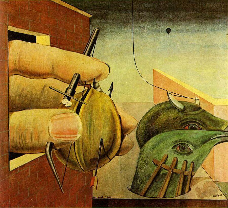 Oedipus Rex, 1922 - by Max Ernst