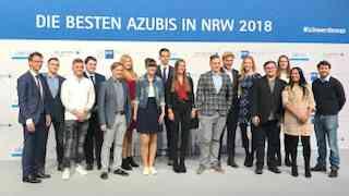 Im Dialog:  Landesbestenehrung im November 2018 in Köln