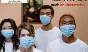 Das #MWBK empfiehlt allen Schülerinnen und Schülern weiterhin eine Mund-Nase-Bedeckung im Unterricht zu tragen