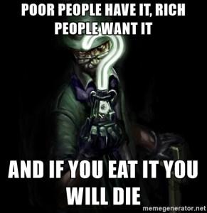The Riddler Meme