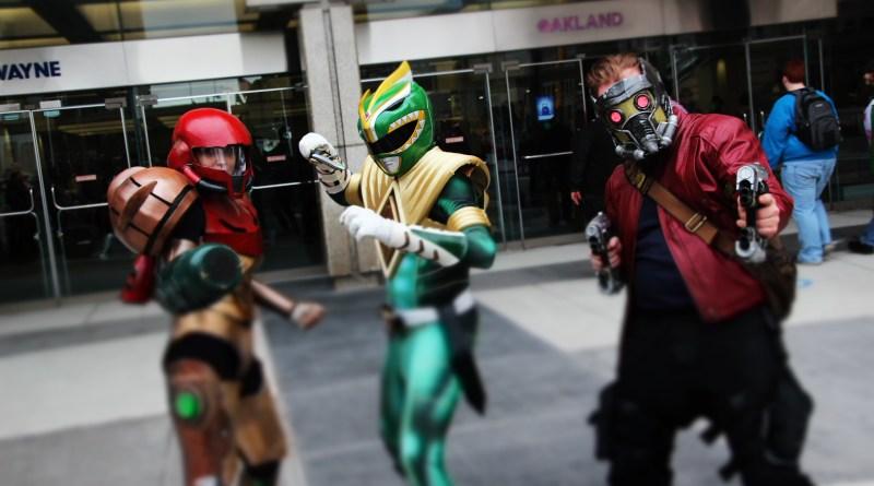 Samus - Metroid - Green Ranger - Power Rangers -Star Lords - Guardians of the Galaxy - Cosplay - Youmacon _ 2017