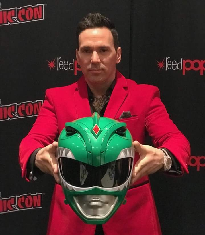 Jason David Frank - The Green Ranger - New York Comic Con