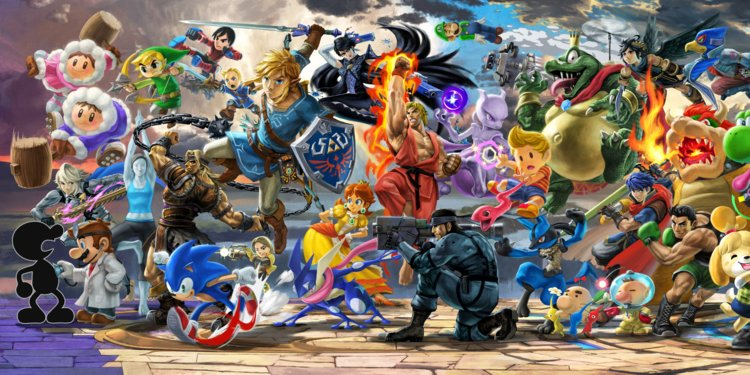 smash brothers ultimate 2