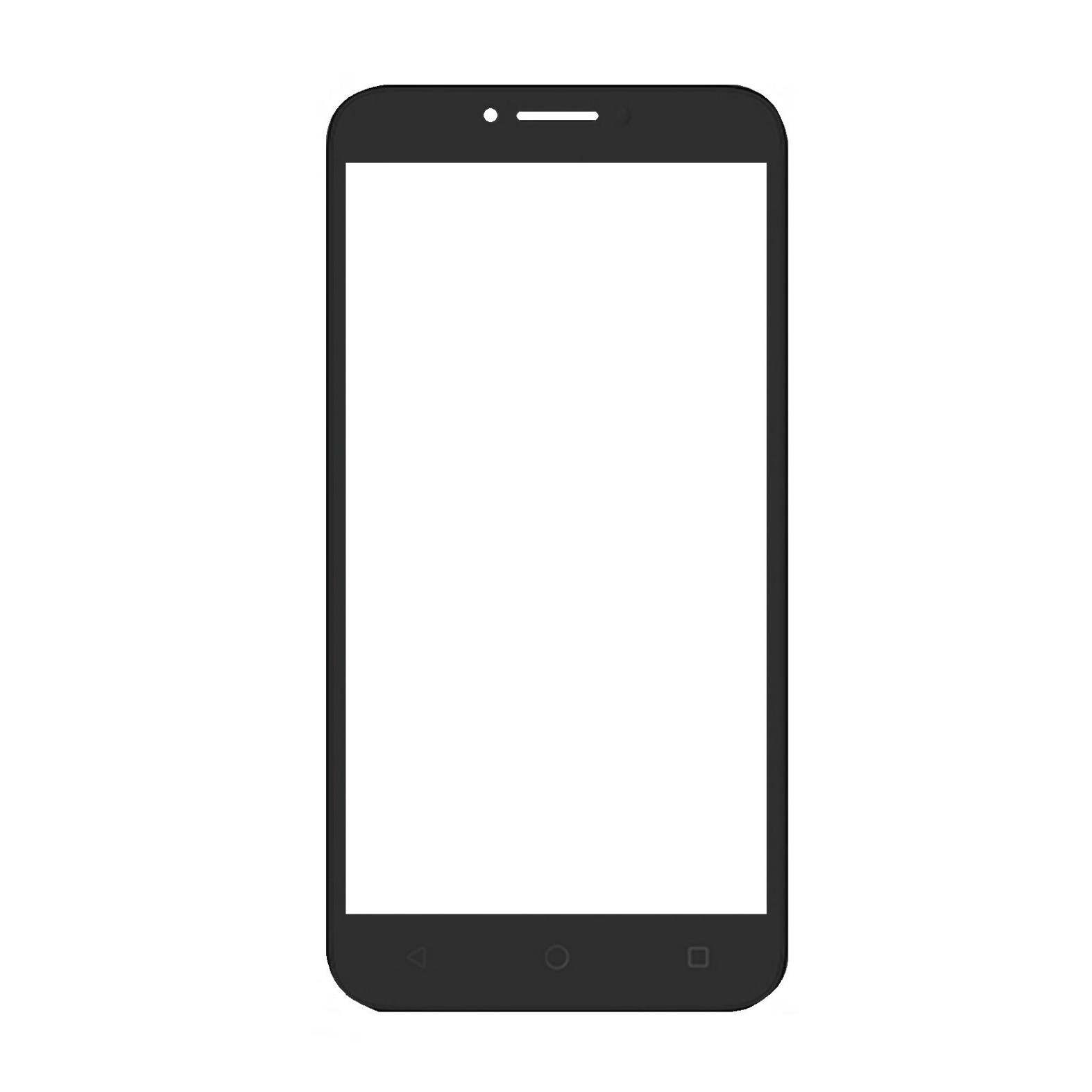 Replacement Front Glass For Alcatel Tetra