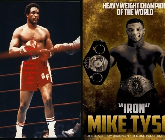 Max Boxing News Mythical Matchup George Foreman Fights Mike
