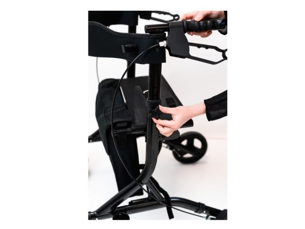 Walker - Zoom Plus - Black Sparkle - adjustable height