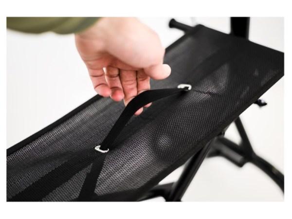 Walker - Zoom Plus - Black Sparkle - seat - handle