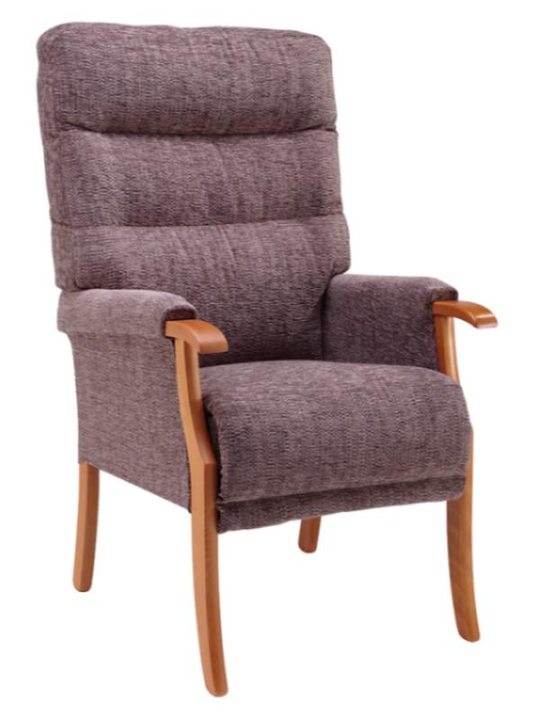 Day Chair - Orwell - Kilburn - Mink + Light Oak