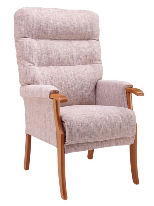 Day Chair - Orwell - Kilburn - Oatmeal + Light Oak