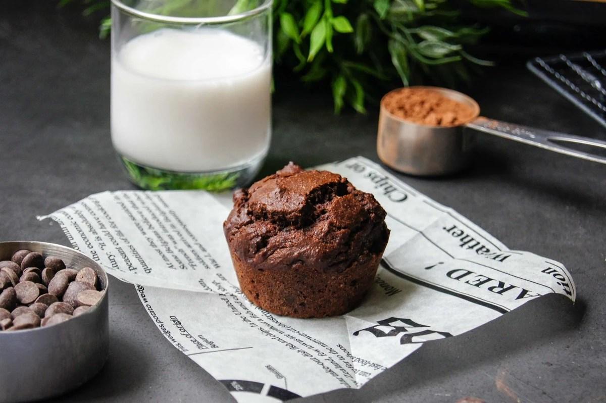 Muffin tout chocolat